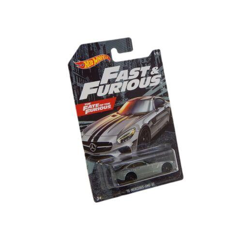 Fast & Furious 6 '15 Mercedes-AMG GT szürke autó 1:64