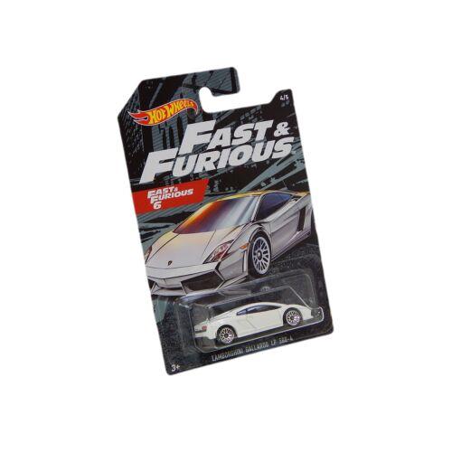 Fast & Furious 6 Lamborghini Gallardo LP 560-4 fehér autó 1:64