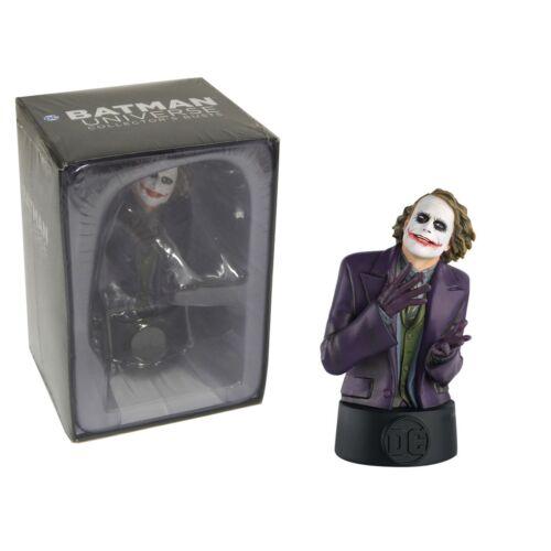 DC Comics Joker Heath Ledger Bust mellszobor figura modell 1:16