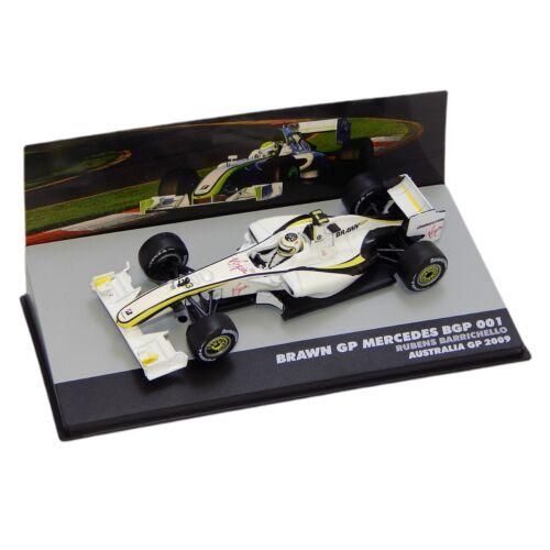 BRAWN GP MERCEDES BGP 001 #33Rubens Barrichello modell autó 1:43