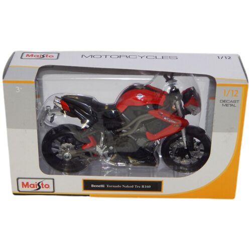 Benelli Tornado Naked Tre R160 piros/fekete modell 1:12