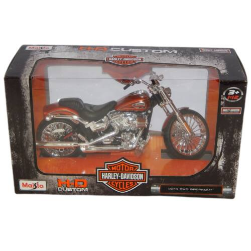Harley Davidson 2014 CVO BREAKOUT  multicolored modell 1:12