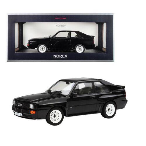 1985 Audi Sport Quattro black modell autó 1:18