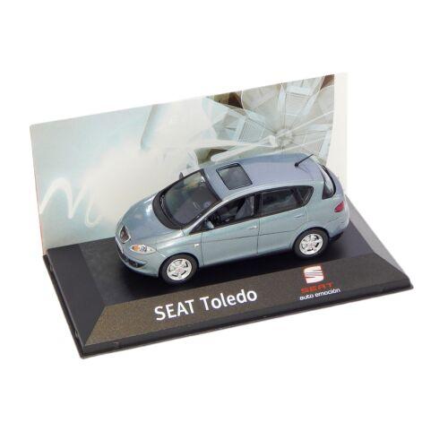 2004-2009 Seat Toledo blue grey Dealer packaging modell autó 1:43