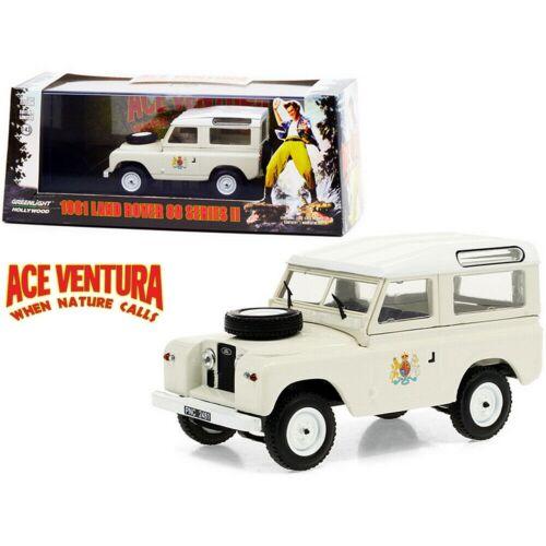 "1961 LAND ROVER 88 SERIES II ""Ace Ventura 1995"" modell autó 1:43"