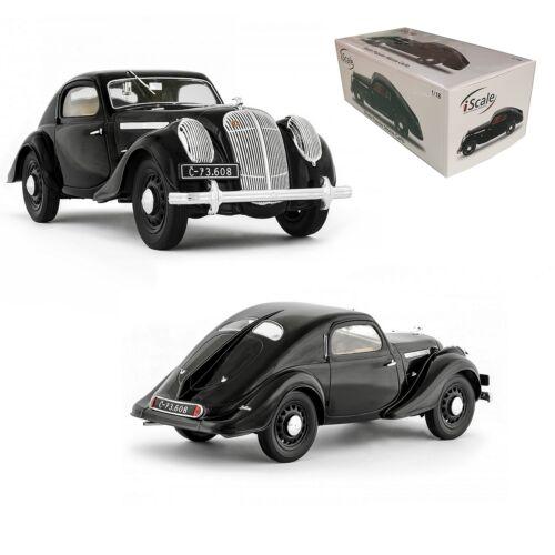 SKODA POPULAR MONTE CARLO black modell autó 1:18