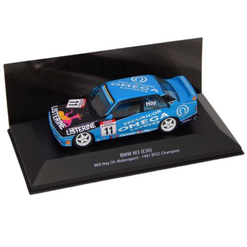 BMW M3 (E30) Will Hoy#11 (VL Motorsport) 1991 BTCC C. modell autó 1:43