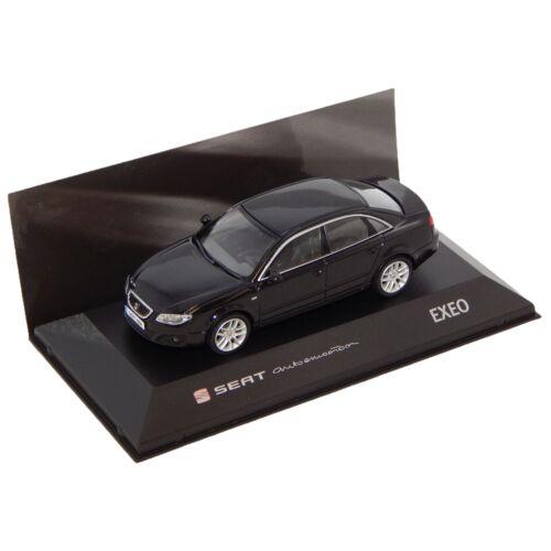Seat Exeo Sedan Magic Black Dealer packaging modell autó 1:43