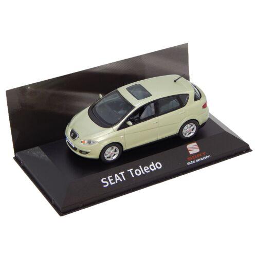 2004-2009 Seat Toledo Fresco Green Dealer packaging modell autó 1:43