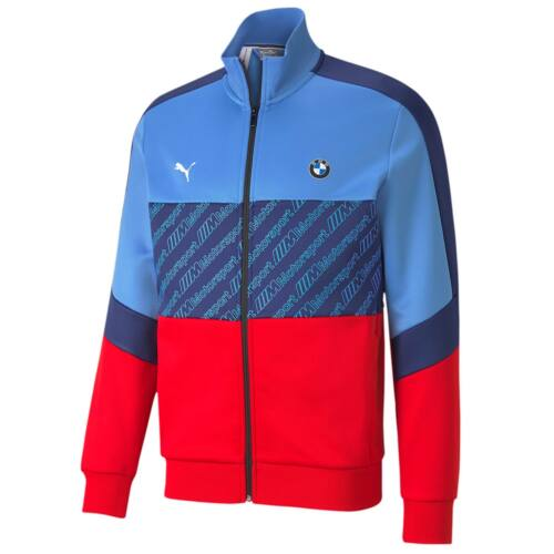 Puma Bmw Motorsport férfi pulóver kék-piros 2020