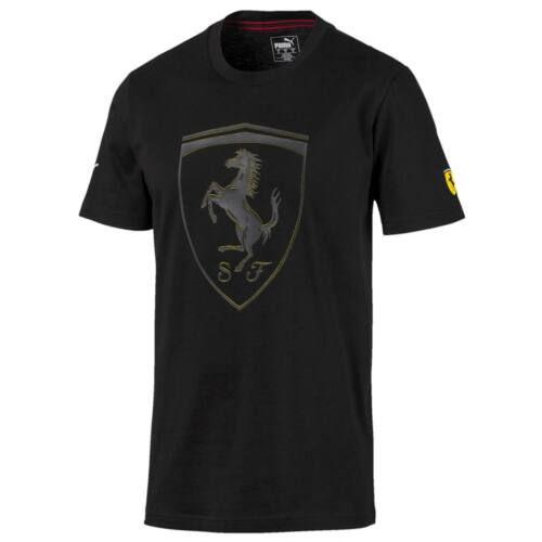 Puma Ferrari póló fekete 2020