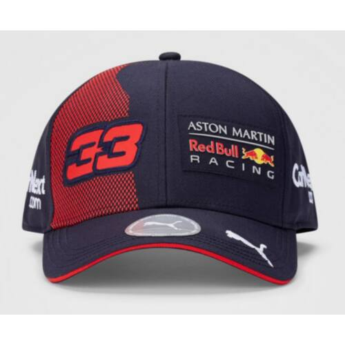 "Red Bull Racing baseball sapka ""Verstappen"" kék-piros 2020"