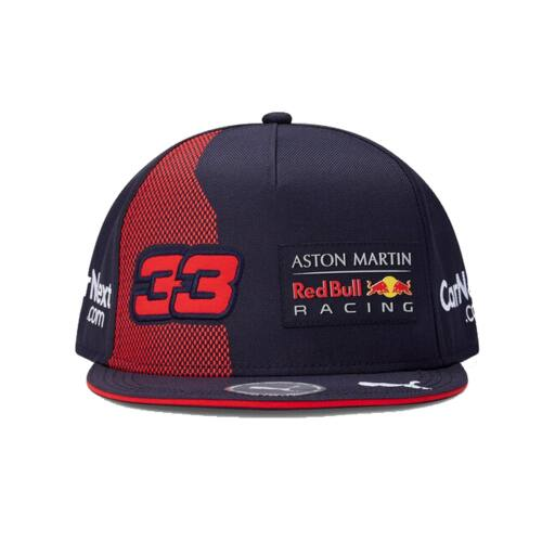 "Red Bull Racing baseball sapka ""Flatbrim"" ""Verstappen"" kék-piros 2020"