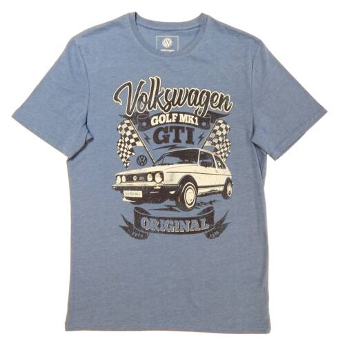 "Volkswagen Golf MK1 férfi póló ""GTI Original"" kék"