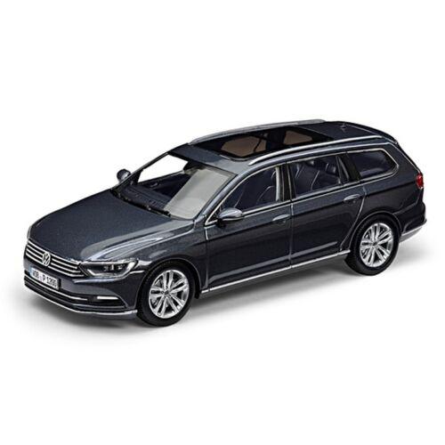Volkswagen Passat Variant 2014 modell autó 1:43 indium grau metallic