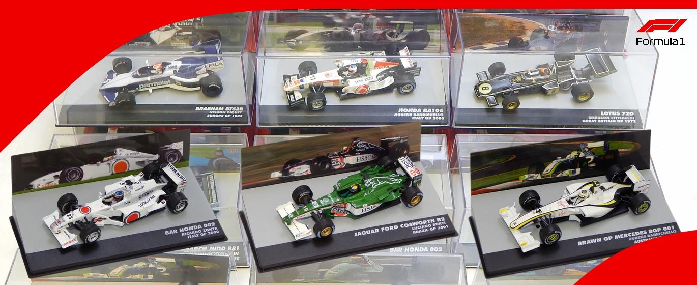 ÚJDONSÁG! F1 modell autók 1:43